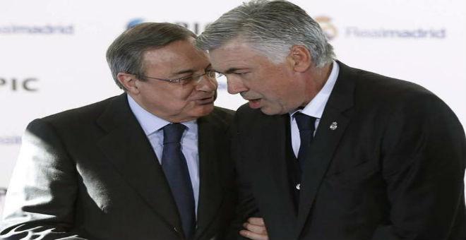 أنشيلوتي يهاجم بيريز ويفضح إدارة ريال مدريد !