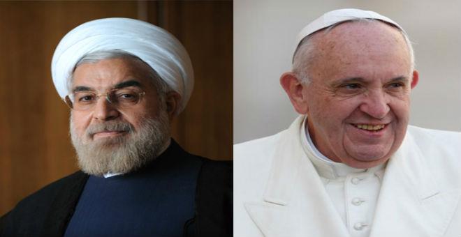 الرئيس الإيراني يحل ضيفا على البابا الخميس المقبل