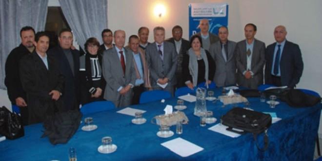 أعضاء المكتب السياسي لحزب التقدم والاشتراكية