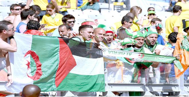 الفاف تقرر إقامة ودية الجزائر وفلسطين بملعب تشاكر