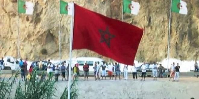 الحدود بين المغرب والجزائر في صورة من الأرشيف