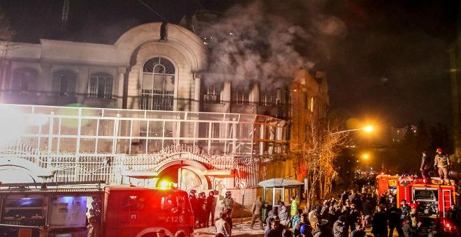 السلطات الإيرانية تعتقل العقل المدبر لهجوم السفارة السعودية في طهران