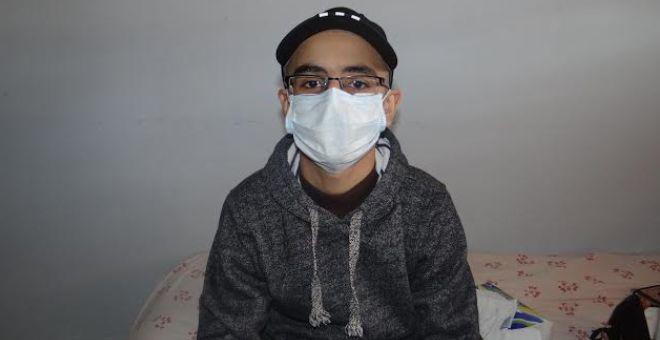 طفل مغربي يتعافى من السرطان يؤدي الامتحان الموحد للسنة التاسعة إعدادي