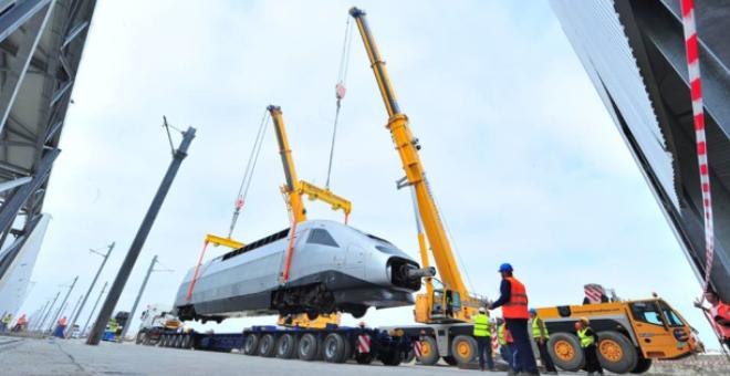 الشروع في التجارب الديناميكية لأول قطار فائق للسرعة في المغرب