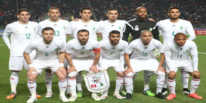 المنتخب الجزائري يتراجع عالميا في تصنيف الفيفا