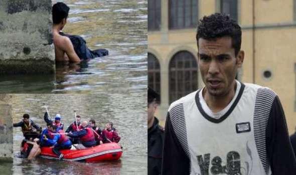 بالفيديو: المهاجر المغربي الذي أنقذ سائحا فرنسيا من الغرق بإيطاليا