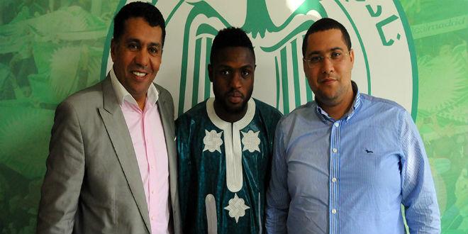 الرجاء البيضاوي يتعاقد مع مهاجم نيجيري ثاني