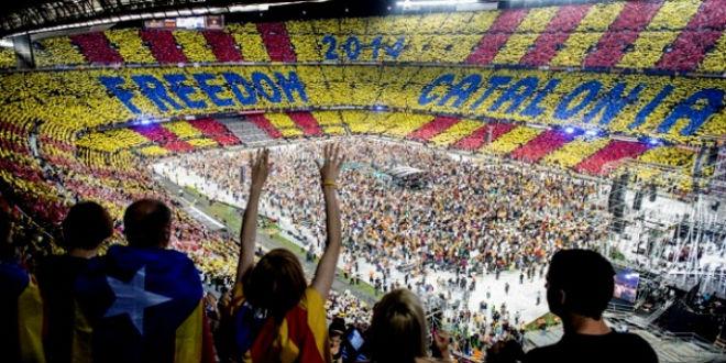 برشلونة يخلق ضجة في إسبانيا بتغريدة إنفصالية
