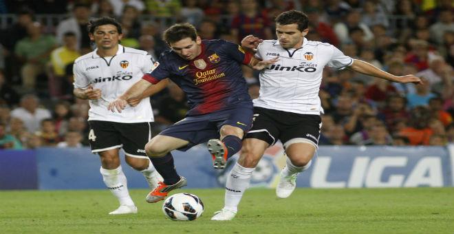 برشلونة يصطدم بنادي فالنسيا في نصف نهائي كأس الملك