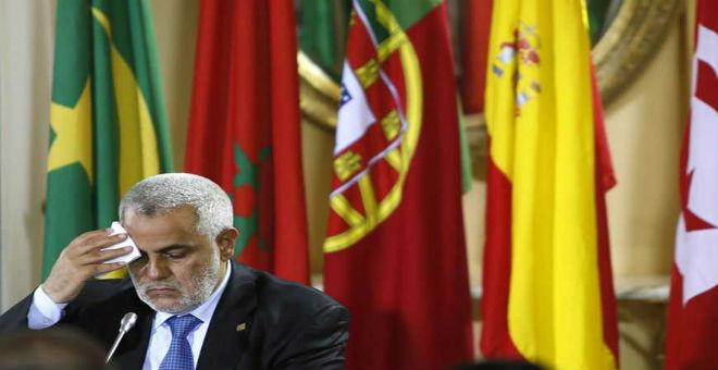 """رئيس الحكومة المغربية وزعيم حزب """"العدالة والتنمية، عبد الإله ابن كيران"""