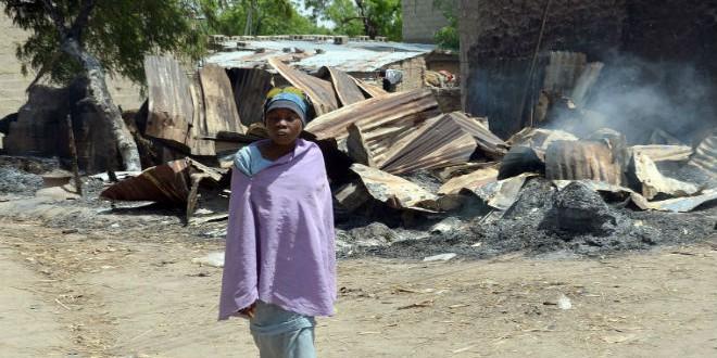 """قرية تعرضت لهجوم من طرف بوكو حرام """"أرشيف"""""""