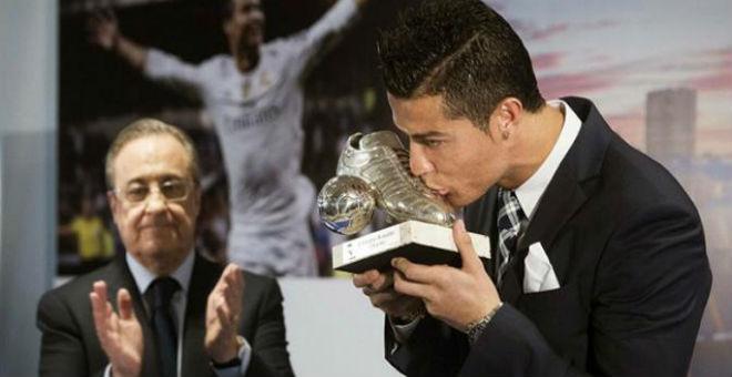 بيريز يحسم في مستقبل رونالدو مع ريال مدريد