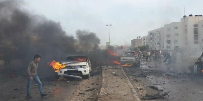 تفجير سابق في ليبيا