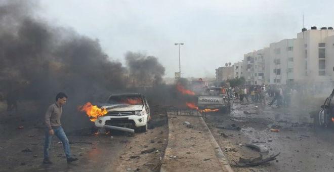 مقتل 60 شخصا في انفجار بزليتن غرب ليبيا