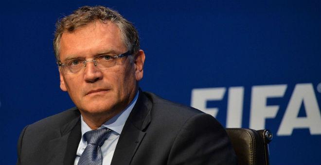الفيفا يعلن إقالة الأمين العام جيروم فالك
