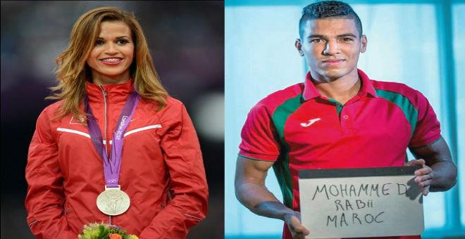 محمد ربيعي وحبيبة الغربي أفضل رياضيين في الوطن العربي