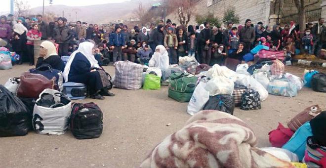 حزب اسكتلندي يطالب كاميرون بإطعام سكان مضايا