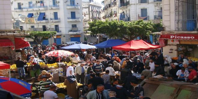 أحد الأسواق بالجزائر العاصمة