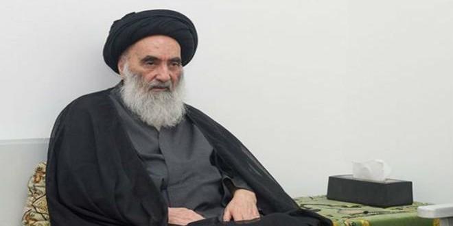 المرجع الشيعي الأعلى بالعراق علي السيستاني