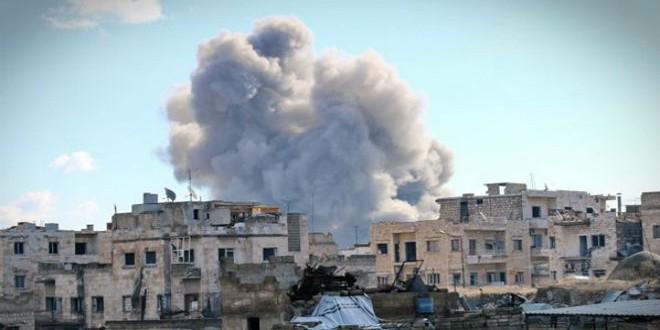 غارة روسية على سوريا (أرشيف)