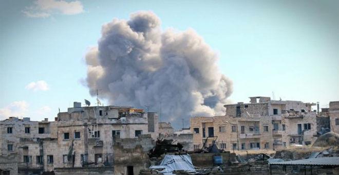 سوريا: مقتل 60 شخصا في غارة روسية على سجن