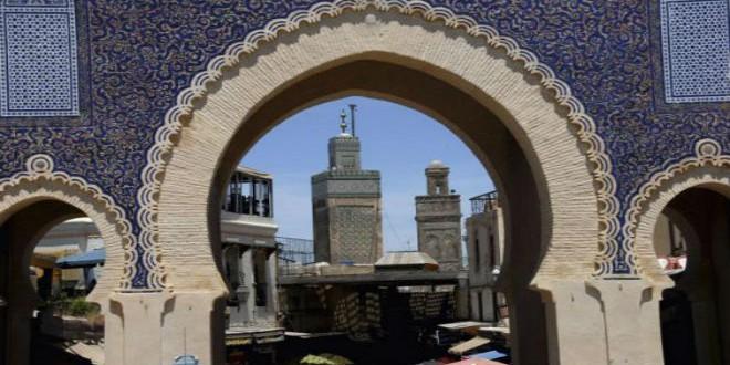 باب بوجلود ..أحد المعالم التاريخية في مدينة فاس