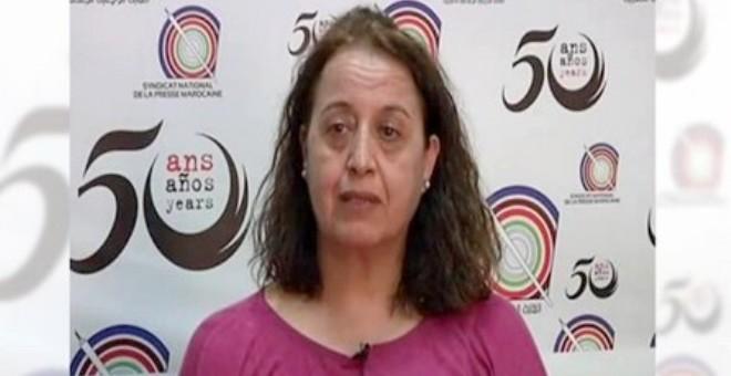 المحكمة تلغي قرار طرد فاطمة حساني من وكالة الأنباء المغربية