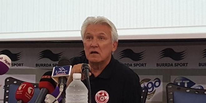 كاسبرزاك يكشف لائحة المنتخب التونسي المحلي