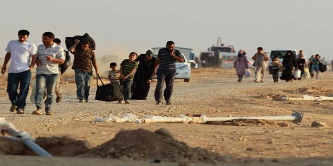 لاجئون سوريون (أرشيف)