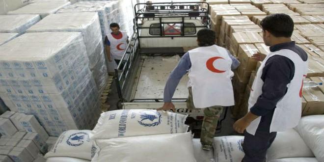 مساعدات إنسانية ستصل إلى بلدات مضايا وكفريا والفوعة