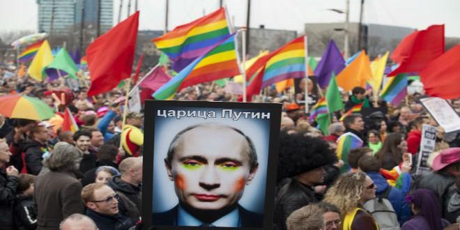 مسيرة للمثليين في روسيا