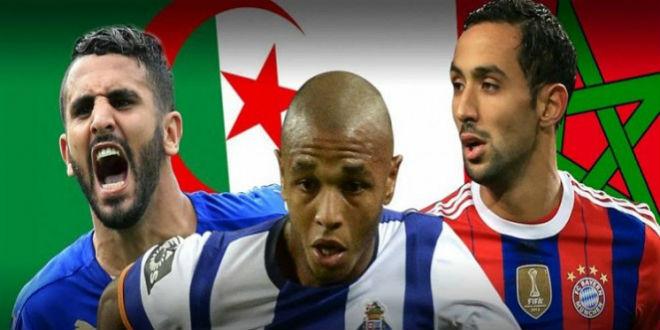 تنافس مغربي جزائري على جائزة أفضل لاعب مغاربي
