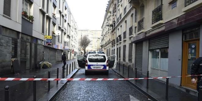 موقع الهجوم على مركز للشرطة بباريس