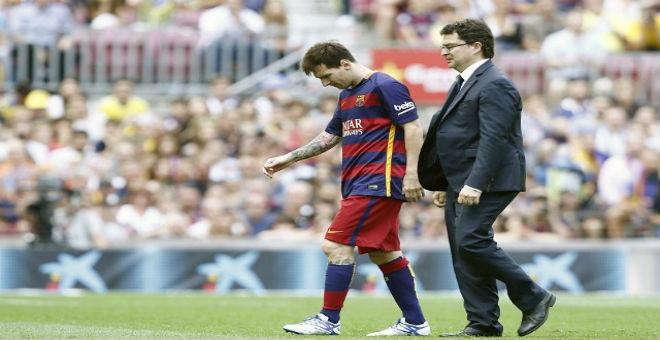 بعد اصابة ميسي..برشلونة يطمئن أنصاره