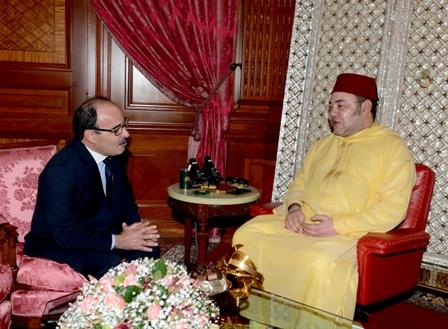 الملك محمد السادس يستقبل العماري بعد انتخابه على رأس الأصالة والمعاصرة