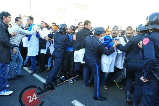 الداخلية: الأساتذة خرقوا القانون وأطراف استفزت الأمن