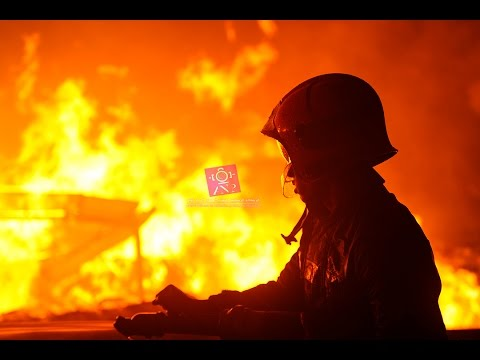 بالفيديو: حريق مهول لخمس شركات بالبيضاء وخسائر بالملايير