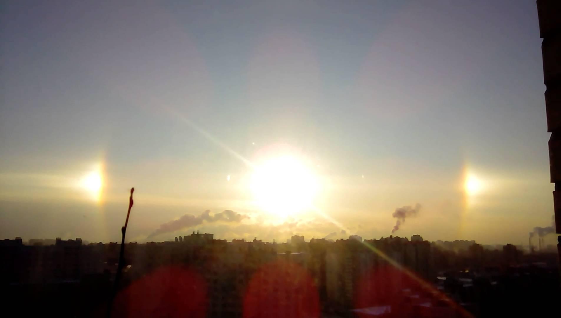 فيديو: ظاهرة بصرية نادرة شهدتها مدينة يان بطرسبورج بشمال غرب روسيا
