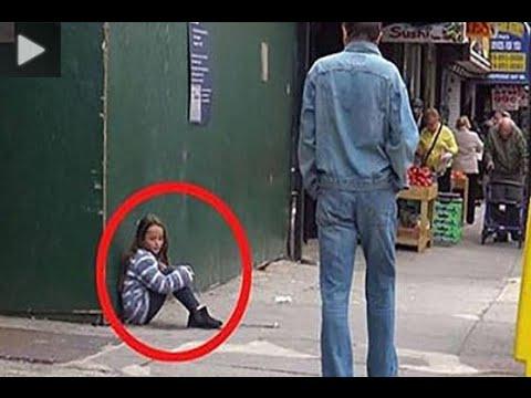 فيديو: تجربة اجتماعية ترصد تفاعل المارة مع طفلة فقدت الطريق لمنزلها أو فقدت والدتها