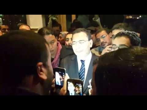 فيديو: محاصرة الخلفي بالأساتذة المتدربين