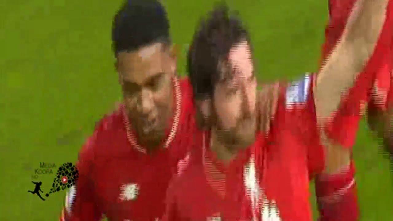 أهداف مثيرة في مباراة ليفربول والأرسنال