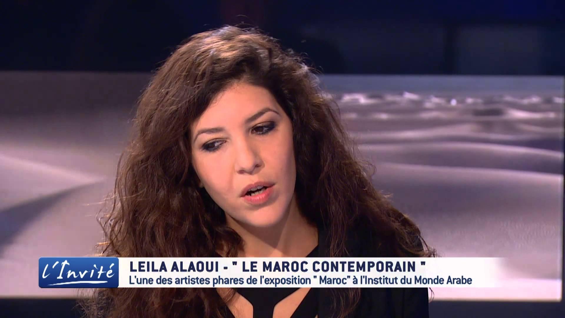 المصورة المغربية الراحلة ليلى العلوي في حديث لقناة