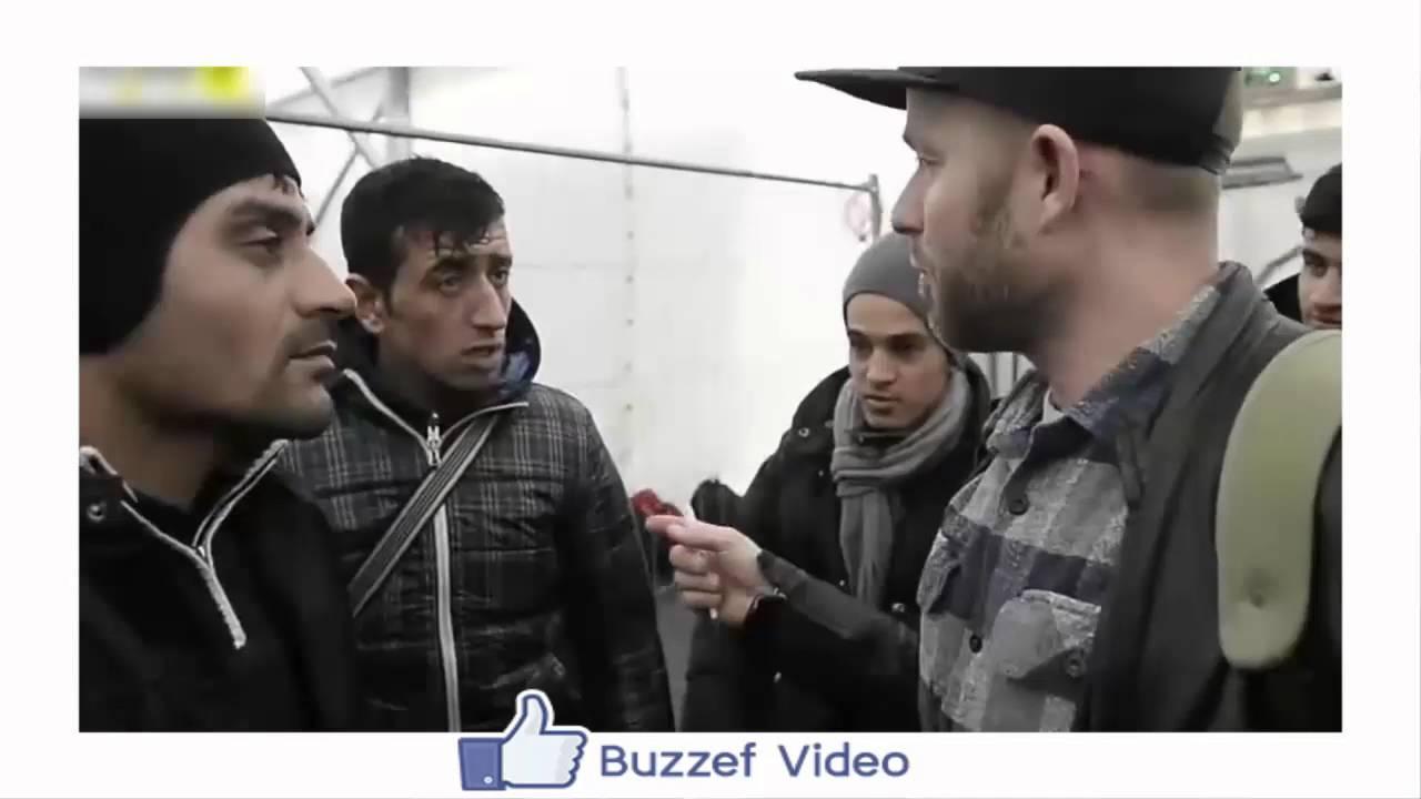 مغربي يؤكد أنه لاجئ سوري