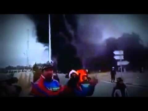 بالفيديو .. احتجاجات شعبية بالقصرين في تونس