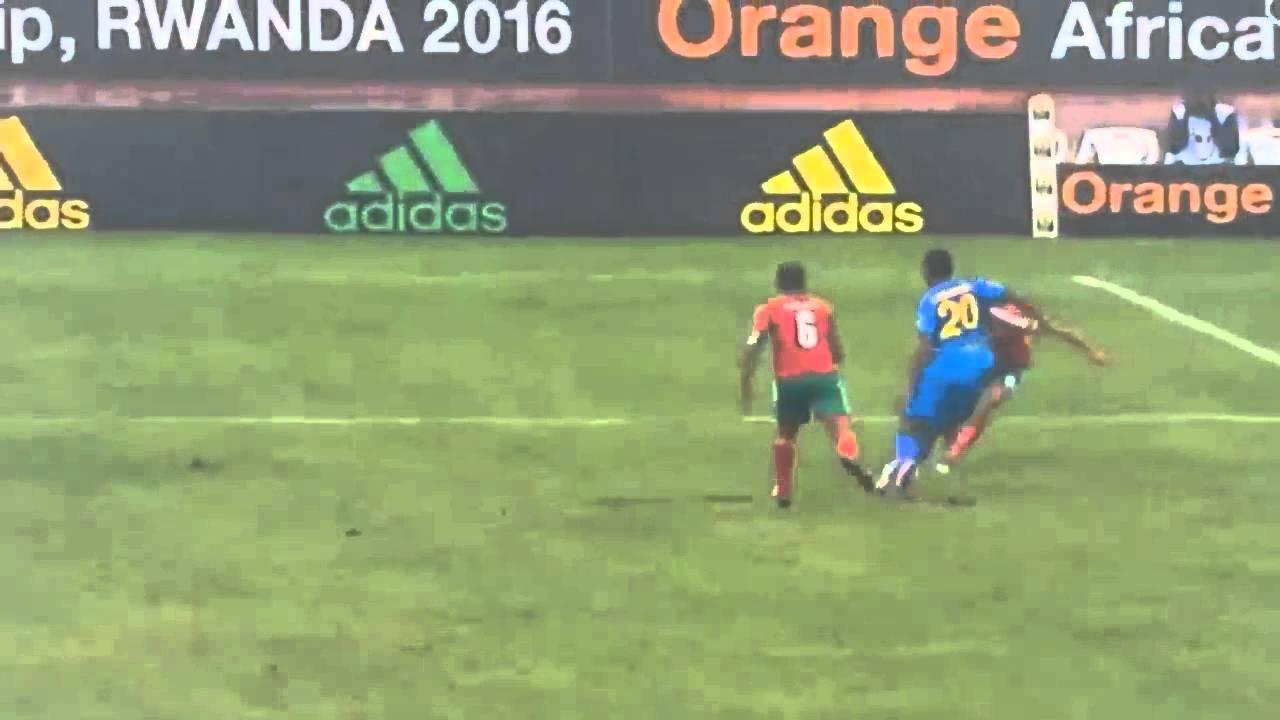 أهداف المنتخب المحلي على رواندا