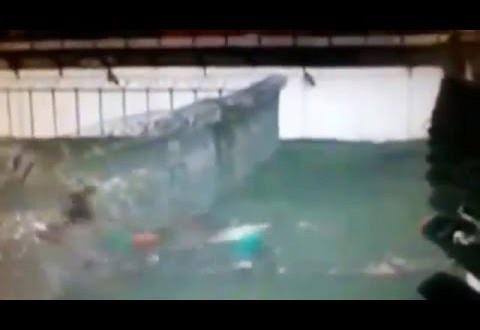 انفجار سور سجن برازيلى وفرار المساجين!