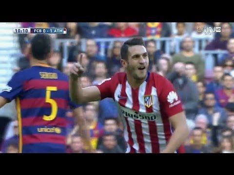 بالفيديو .. هدفي برشلونة في شباك الأتلتيكو
