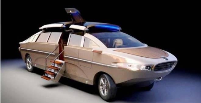 السيارة البرمائية تصبح حقيقة ولكن بسعر خيالي