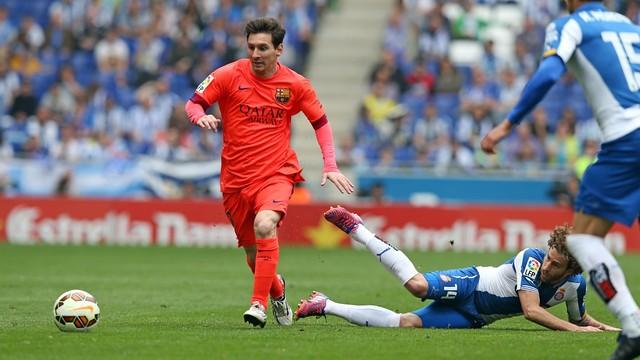 إسبانيول يوقف نجاحات برشلونة في الدوري الإسباني