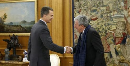 ملك إسبانيا يجري  مشاورات.. ولغز  علاقة
